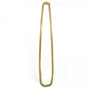 Necklace pendant grillz jewelz online store miami cuban chain 10k yg 61cm solid sold out mozeypictures Gallery