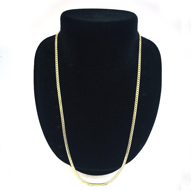 MIAMI CUBAN CHAIN 10K YG 3.5mm,56cm 【SOLID】