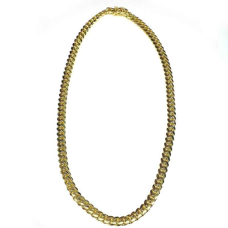 MIAMI CUBAN CHAIN 10K YG 8mm,56cm 【SOLID】