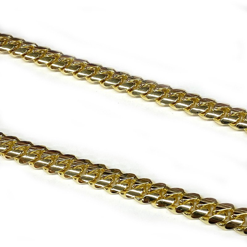 MIAMI CUBAN CHAIN 10K YG 11.5mm,61cm 【SOLID】