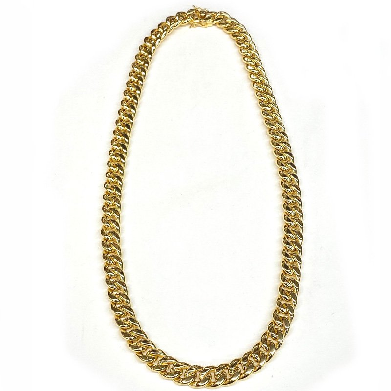 MIAMI CUBAN CHAIN 10K YG 12mm,61cm 【HOLLOW】(中空タイプ)