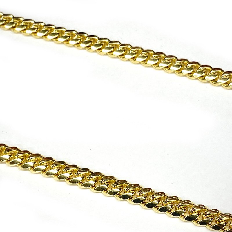 MIAMI CUBAN CHAIN 10K YG 6mm,60cm 【SOLID】