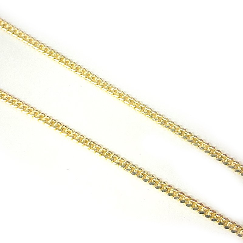 MIAMI CUBAN CHAIN 10K Yellow Gold 2.5mm  50cm/55cm/60cm  【SOLID】