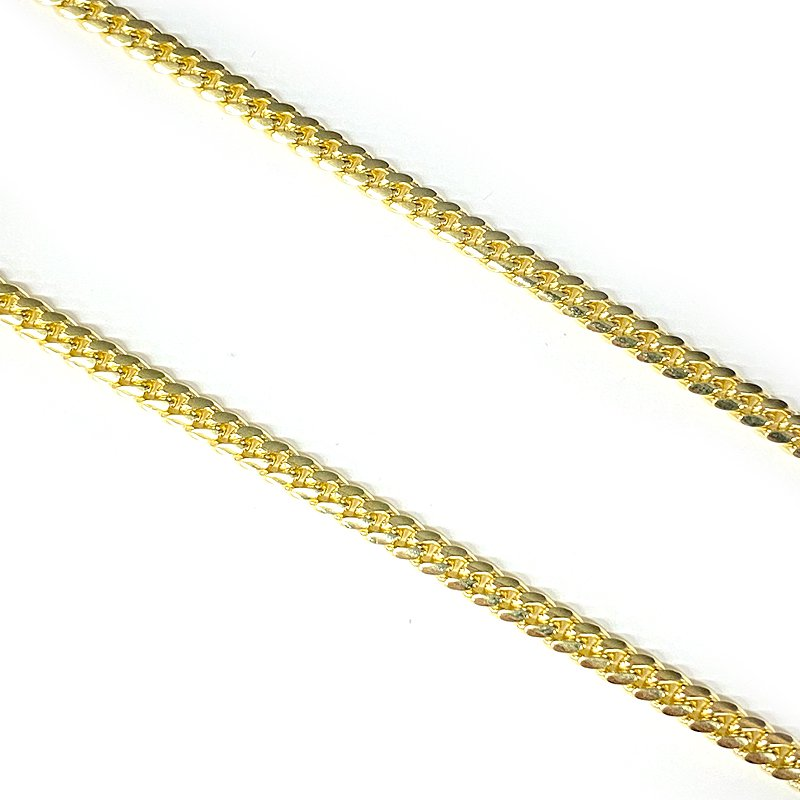 MIAMI CUBAN CHAIN 10K Yellow Gold 4.0mm  50cm/55cm  【SOLID】