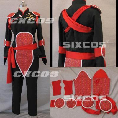 AL0572 犬夜叉 珊瑚 風 コスプレ衣装