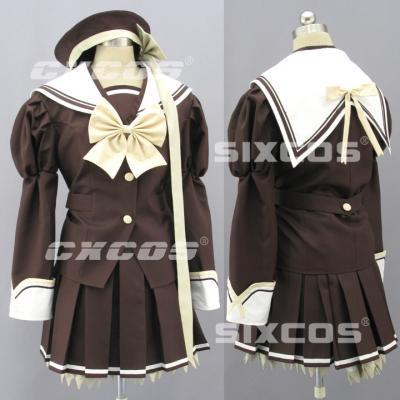 AL0891 SHUFFLE! バーベナ学園 女子制服 冬服 コスプレ衣装