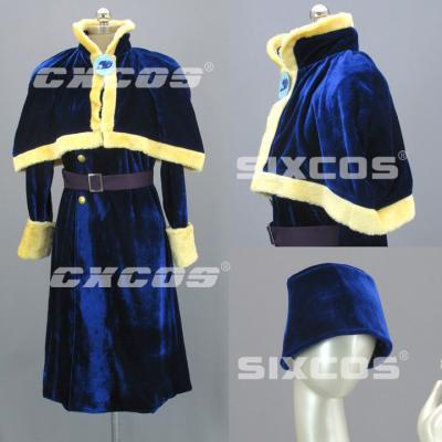AL1011 FAIRY TAIL フェアリーテイル Juvia Lockser (ジュビア・ロクサー) 風 コスプレ衣装
