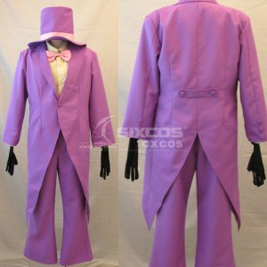 Superjail! Warden-David Wain 風 コスプレ衣装 Cosplay Costume