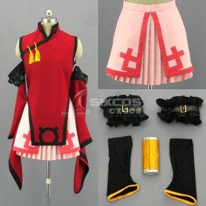 ギルティギア/GUILTY GEAR クラドベリ ジャム 風 コスプレ衣装 Jam Kuradoberi Cosplay Costume