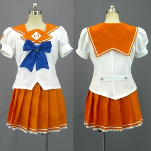 末永みらい 風 制服 コスプレ衣装 Mirai Suenaga-Mirai Suenaga Girls Uniform Cosplay Costume