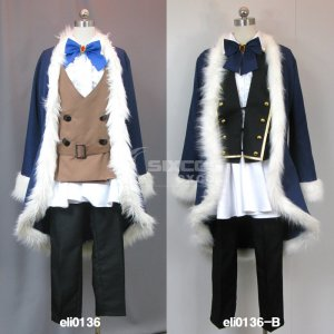 イヴェール 風 コスプレ衣装 Sound Horizon 5th Story CD『Roman』- Iver Male Cosplay Costume