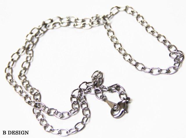 ステンレス製ネックレス