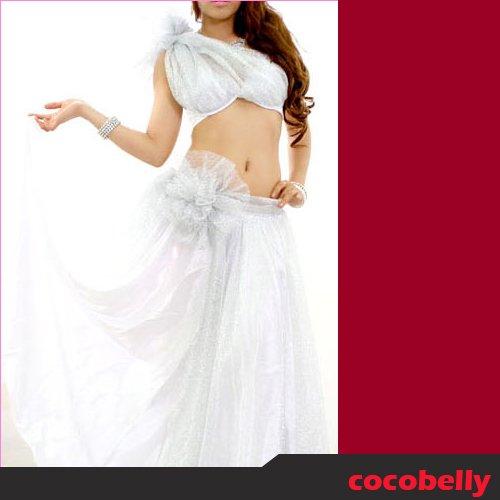 ベリーダンス衣装 クイーンホワイト