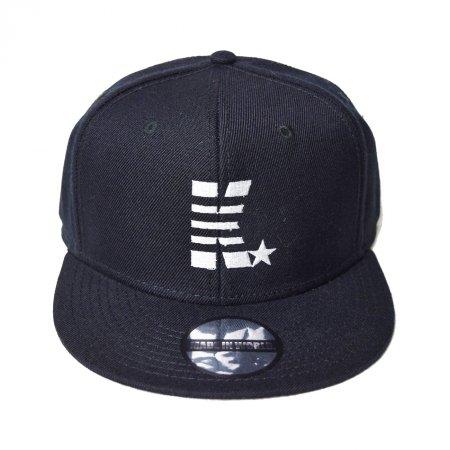 【入荷待ち予約】MADE IN WORLD☆&CO メイドインワールドアンドシーオー キャップ / snap back cap (K☆) black