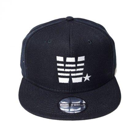 【入荷待ち予約】【入荷2月下旬予定】MADE IN WORLD メイドインワールド キャップ / snap back cap (W☆)