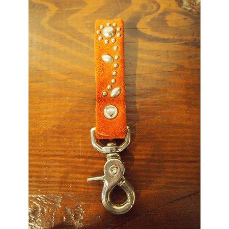 【先行予約5月8日(月)13時まで】【入荷6月上旬予定】M エム / 3/4 KEY HOLDER (HTC×M FLOWER)  orange