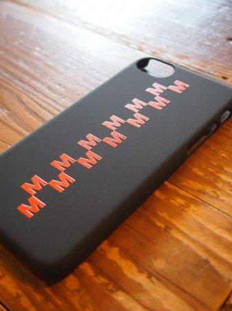 【先行予約5月8日(月)13時まで】【入荷6月上旬予定】M エム / iPhone7 cover (M checker)  black