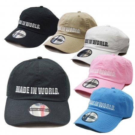 T☆ メイドインワールド CAP キャップ WHITE MADE IN WORLD
