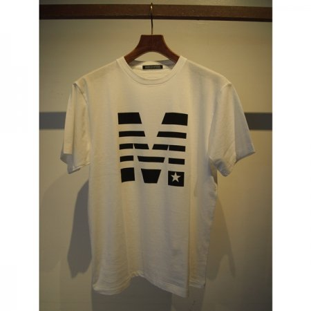 【予約】【入荷8月上旬予定】MADE IN WORLD / crew neck t-shirts (M x MADE IN WORLD☆) white