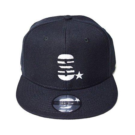 【即納】MADE IN WORLD☆ メイドインワールド キャップ / snap back cap (S☆) black