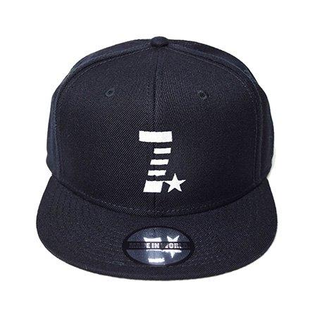 【即納】MADE IN WORLD☆ メイドインワールド キャップ / snap back cap (7☆) black