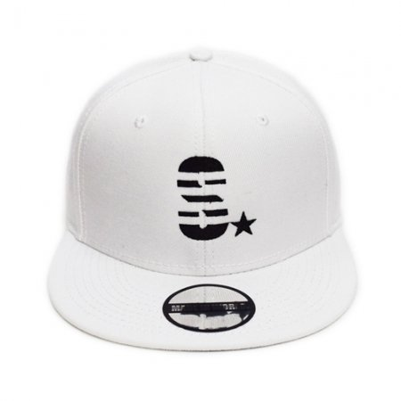 【即納】MADE IN WORLD☆ メイドインワールド キャップ / snap back cap (S☆) white