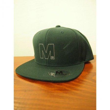M エム キャップ / snap back cap (fram...