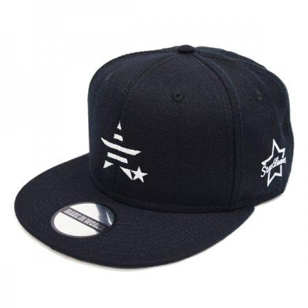 メイドインワールド アンドシーオー キャップ / snap back cap (MADE IN WORLD &CO × StarLean) black