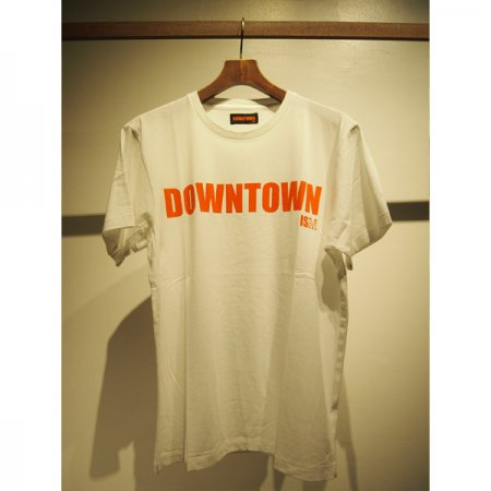 M エム / crew neck t-shirts (DOWNTOWN ISM) white