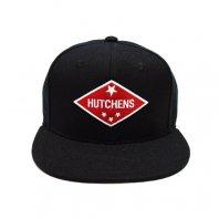 HUTCHENS ハッチェンズ / ダイヤモンド ロゴ スナップバック キャップ BLACK×RED
