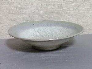 三池焼窯元◆緑の平鉢17�『銅緑釉平鉢』【誕生日や退職などの贈り物に最適な九州熊本の手作り陶器】