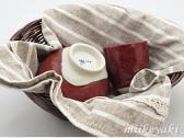三池焼窯元・赤い茶碗セット(辰砂ごはん茶碗&湯のみ)【プレゼントに最適の手作り陶器】