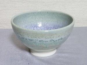 三池焼窯元◆緑のご飯茶碗『緑釉飯碗』【誕生日や退職などの贈り物に最適な九州熊本の手作り陶器】