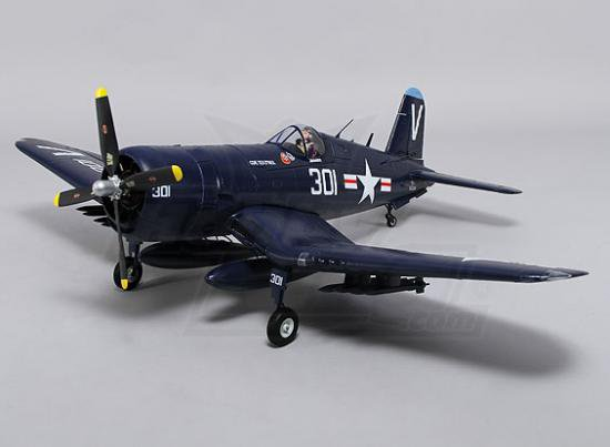 durafly f4u corsair w flaps retracts lights 1100mm pnf R C