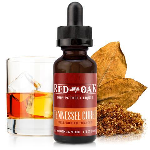 電子タバコ用E-リキッドTennesseeCured 【Red Oak】  0.0% 15ml