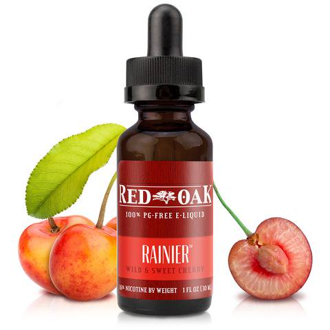 電子タバコ用E-リキッドRainier 【Red Oak】 0.0% 15ml