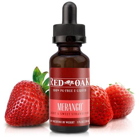 電子タバコ用E-リキッドMerango 【Red Oak】 0.0% 15ml