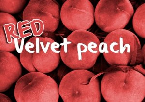 電子タバコ用Drop Red Velvet Peach 10ml