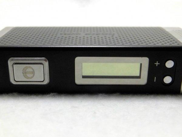電子タバコ iTasteMVP ボタン配置ディスプレイ画面