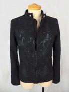 POTENZA Coating KnitDenim Rider's Jacket