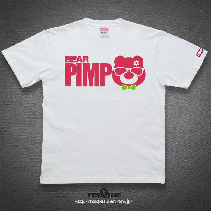 Pimp-BEAR- Vol2(White)