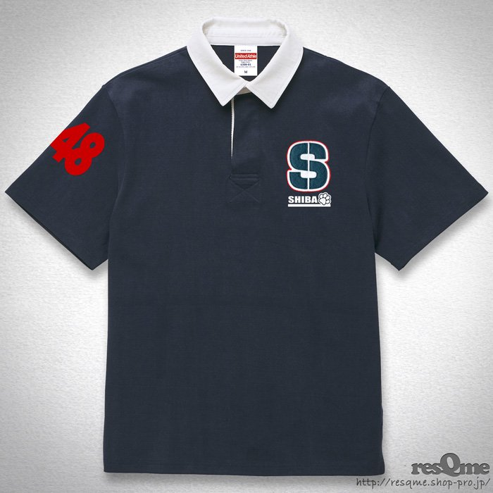 <img class='new_mark_img1' src='//img.shop-pro.jp/img/new/icons55.gif' style='border:none;display:inline;margin:0px;padding:0px;width:auto;' />[刺繍] S RugbyShirt (Navy)