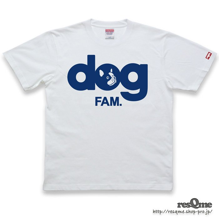 dog -FrenchBulldog- TEE (White01)