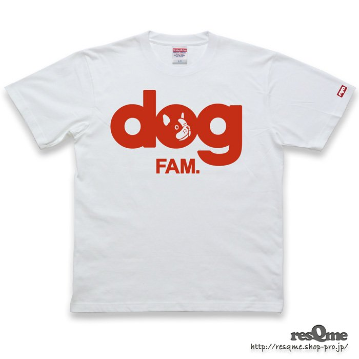 dog -FrenchBulldog- TEE (White02)