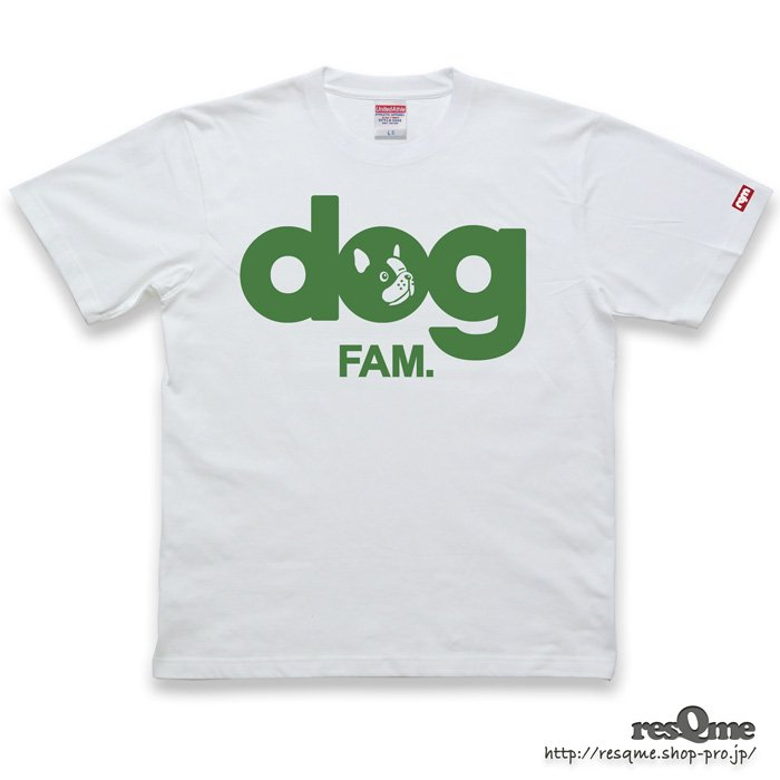 dog -FrenchBulldog- TEE (White03)