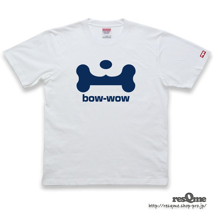 <img class='new_mark_img1' src='//img.shop-pro.jp/img/new/icons1.gif' style='border:none;display:inline;margin:0px;padding:0px;width:auto;' />bow-wow TEE front (White01)