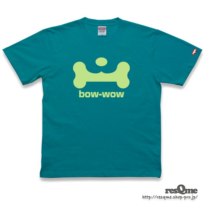 <img class='new_mark_img1' src='//img.shop-pro.jp/img/new/icons1.gif' style='border:none;display:inline;margin:0px;padding:0px;width:auto;' />bow-wow TEE front (AppleGreen)