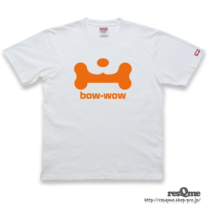 <img class='new_mark_img1' src='//img.shop-pro.jp/img/new/icons1.gif' style='border:none;display:inline;margin:0px;padding:0px;width:auto;' />bow-wow TEE front (White03)