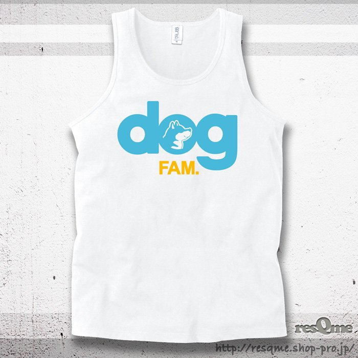 <img class='new_mark_img1' src='//img.shop-pro.jp/img/new/icons1.gif' style='border:none;display:inline;margin:0px;padding:0px;width:auto;' />dog 柴犬 Tanktop (White)