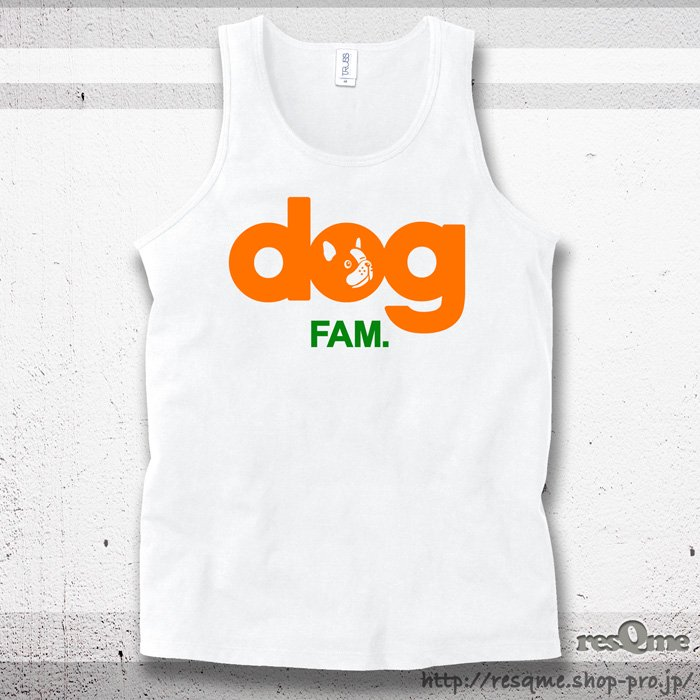 <img class='new_mark_img1' src='//img.shop-pro.jp/img/new/icons1.gif' style='border:none;display:inline;margin:0px;padding:0px;width:auto;' />dog French Tanktop (White)